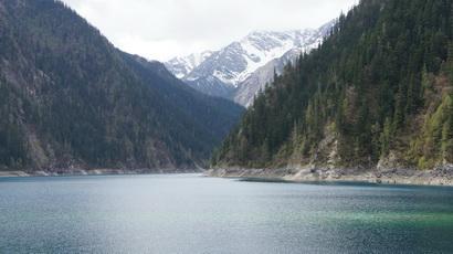 Озеро в парке Цзючжайгоу