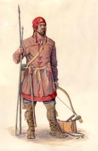 Воин именьковской культуры